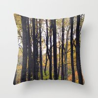 Forest Delight Throw Pillow