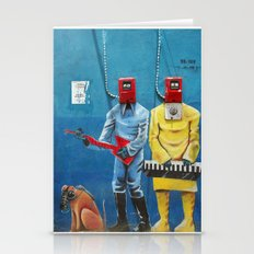 street art men 6 Stationery Cards