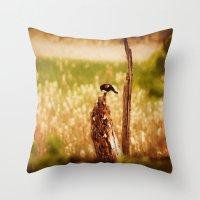 Bird Photography Throw Pillow