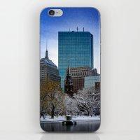 Winter In Boston iPhone & iPod Skin
