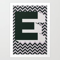 E. Art Print