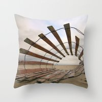 Roll Play Throw Pillow