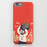 iPhone & iPod Case featuring Anger by David Finley