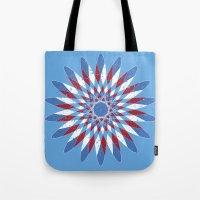 Distressed Kaleidoscope Tote Bag