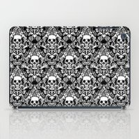 Skull Damask iPad Case