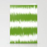 Green Tie Dye Stationery Cards