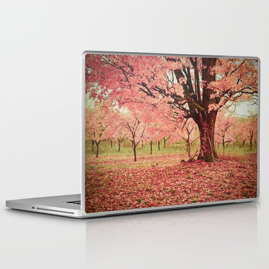 Wind and Leaves Laptop & iPad Skin