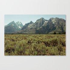 Tetons III Canvas Print