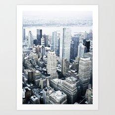 NEW YORK//COLOUR Art Print