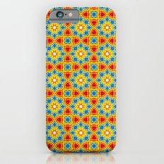 Orange stars Slim Case iPhone 6s