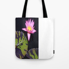Pink Lily Tote Bag