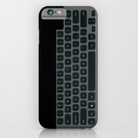 Brushed Metal Keyboard iPhone 6 Slim Case