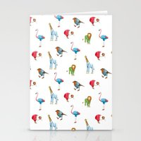 At the office Stationery Cards