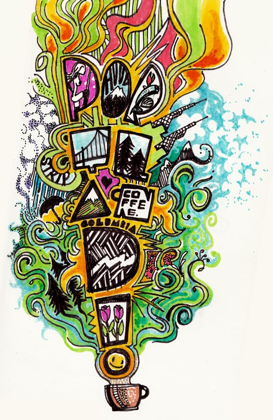 PORTLAND!!! Art Print