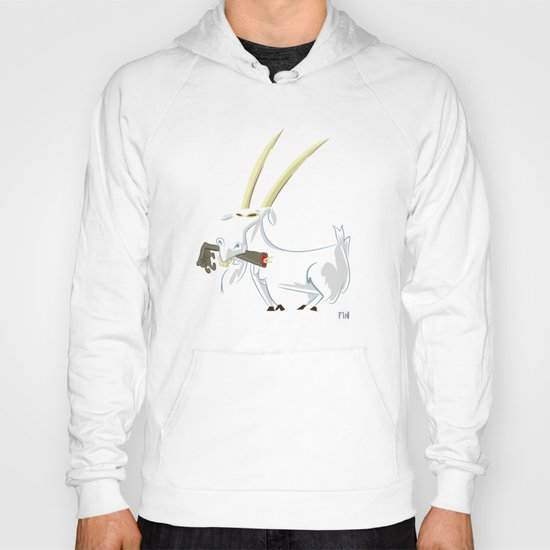 Trashmouth Goat, the Frost Giant Slayer Hoody