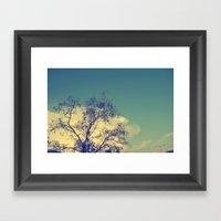 Lone Light Framed Art Print