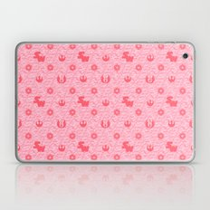 I Love You, I know. Star Wars Pillow Art in Pink Laptop & iPad Skin