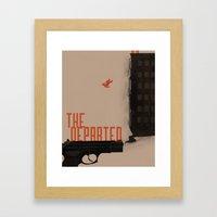 The Departed Framed Art Print