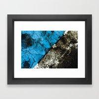 asphalt 2 Framed Art Print