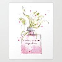 RL Romance Art Print