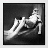 Death Star Construction - Day 1138 Canvas Print