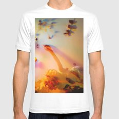 Blooming Colors Mens Fitted Tee SMALL White