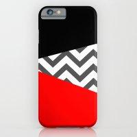 Color Blocked Chevron 10 iPhone 6 Slim Case