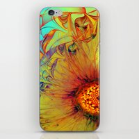 Sunflower Abstract iPhone & iPod Skin