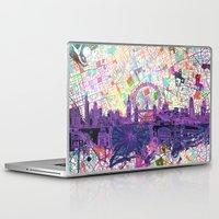 london Laptop & iPad Skins featuring London by Bekim ART
