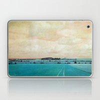 Blue Field Laptop & iPad Skin