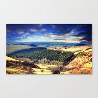 Exmoor Views Canvas Print