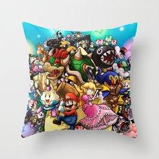 Legend of Seven Stars! Throw Pillow