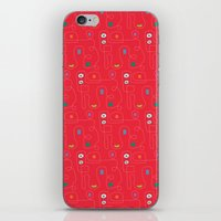 Red Bicycle iPhone & iPod Skin