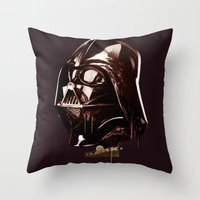 Dark Chocolate Throw Pillow