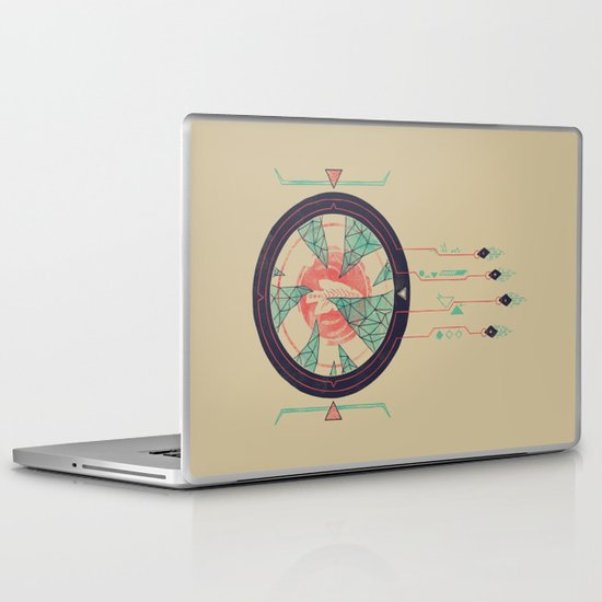 Digital Catcher Laptop & iPad Skin