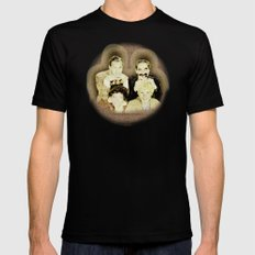 MARX BROTHERS - 004 SMALL Mens Fitted Tee Black