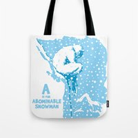 A Is For Abominable Snow… Tote Bag