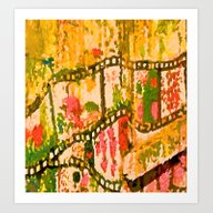 Flowers And Chains Art Print