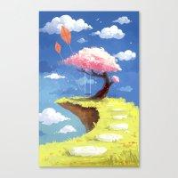Secret Place Canvas Print