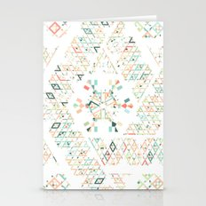 Ethnic Geometry Stationery Cards