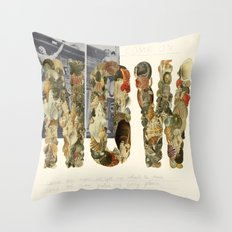 NOW! Throw Pillow