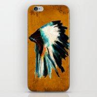 Native Headdress iPhone & iPod Skin
