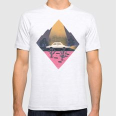 Under a blinding beam of light Mens Fitted Tee Ash Grey SMALL