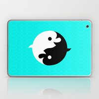 Yin Yang Dolphins Laptop & iPad Skin