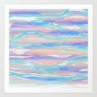 Tropical Blue Art Print