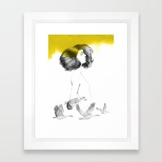Cècile Framed Art Print