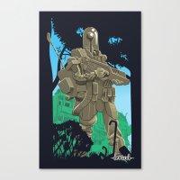 Robotic Warfighter MK.5D… Canvas Print