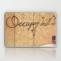 Occupy Wall Street on Storefront Photo Laptop & iPad Skin