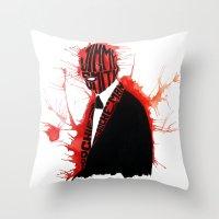 Jimmy S Throw Pillow
