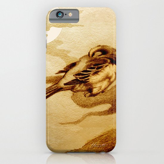 Sparrow by Moonlight iPhone & iPod Case